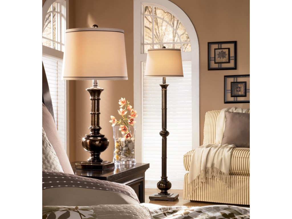 Shown with Coordinating Floor Lamp