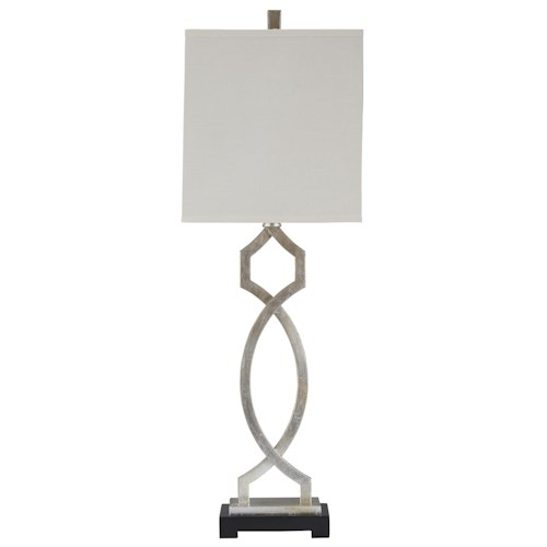 Signature Design by Ashley Lamps - Traditional Classics Taggert Metal Table Lamp
