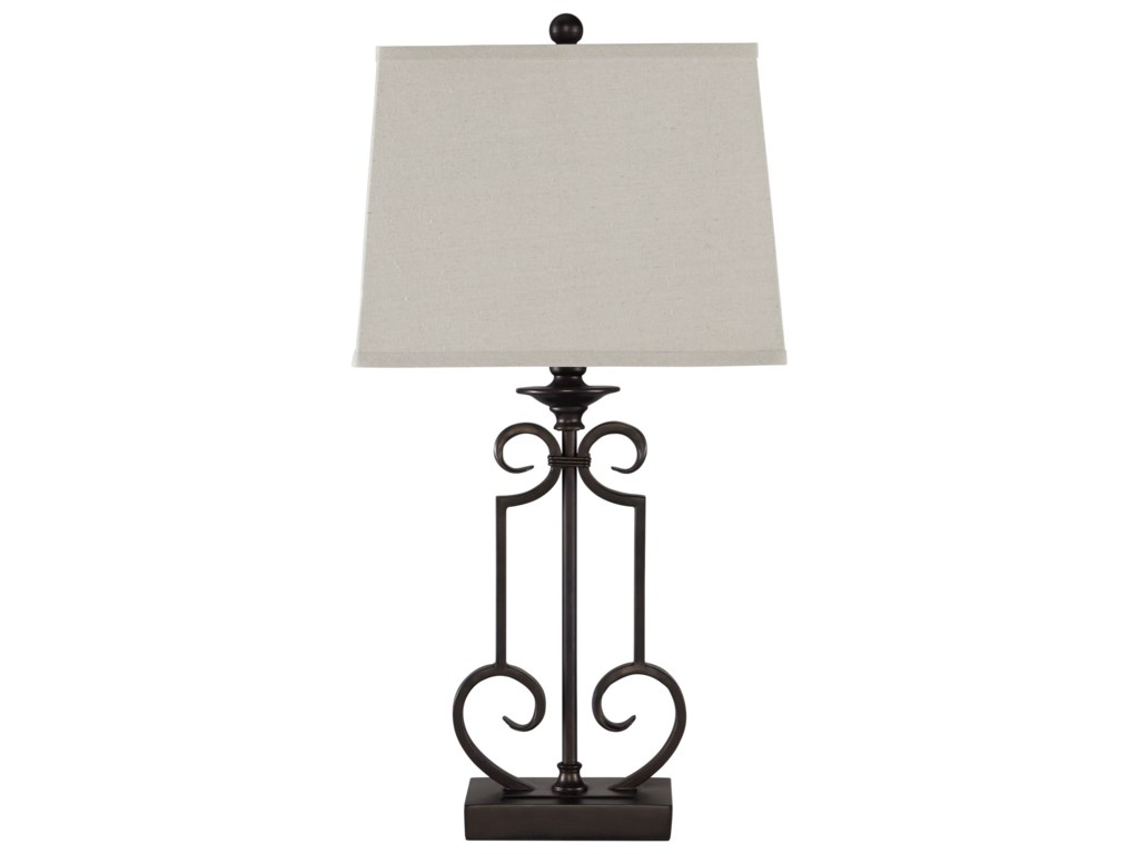 Ashley (Signature Design) Lamps - Traditional ClassicsSet of 2 Ainslie Table Lamps