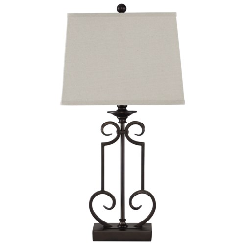 Signature design by ashley lamps traditional classics ainslie table lamp