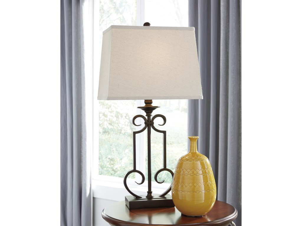 Signature Design by Ashley Lamps - Traditional ClassicsAinslie Table Lamp