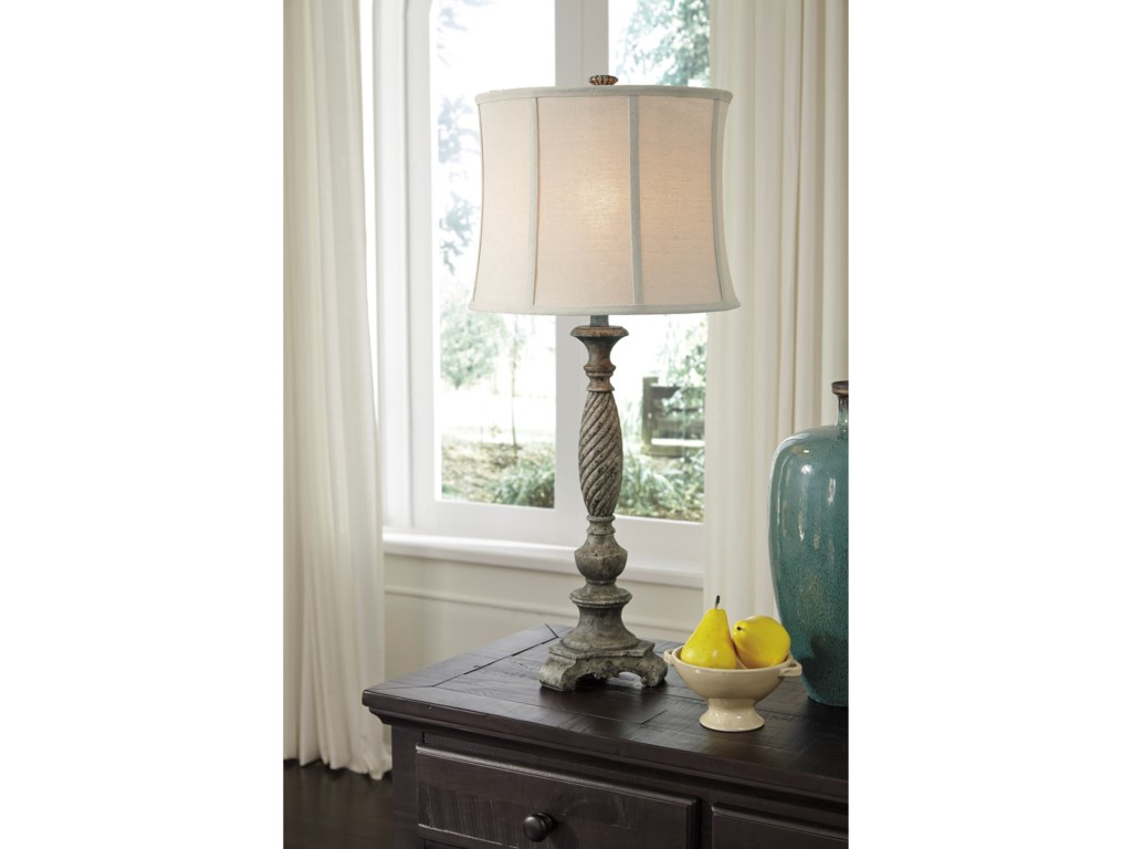 Signature Design by Ashley Lamps - Traditional ClassicsAlinae Poly Table Lamp