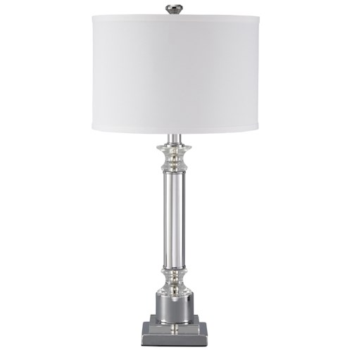 Signature Design by Ashley Lamps - Traditional Classics Marlon Metal Table Lamp