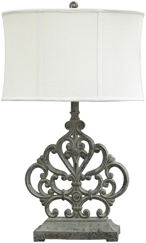 Signature design by ashley lamps traditional classics broderick antique brown poly table lamp