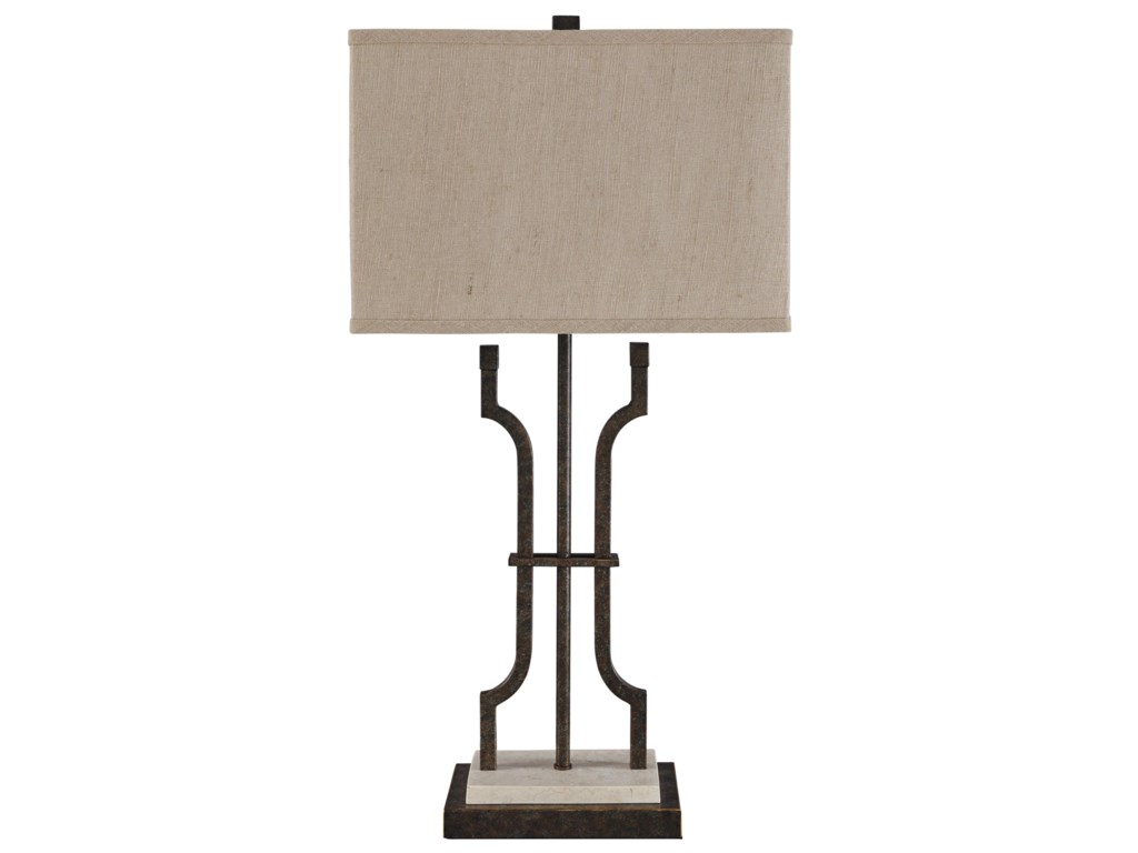 Signature Design By Ashley Lamps Traditional Classics Malik Metal