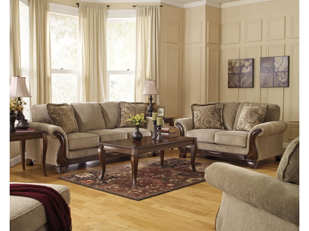 Signature Design by Ashley LanettSofa, Loveseat and Chair Set