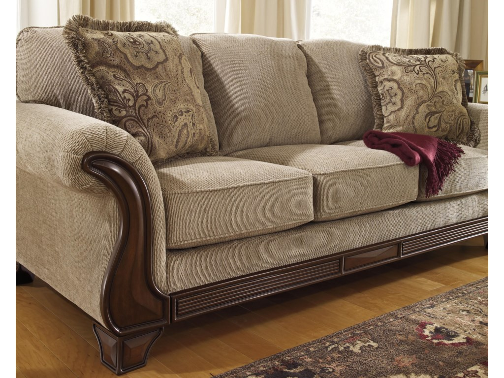 Signature Design By Ashley Sofa Great Durablend Leather