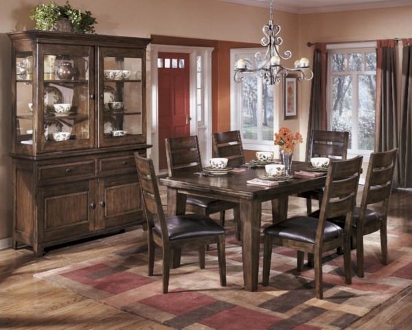 Signature design by ashley larchmont casual dining room group