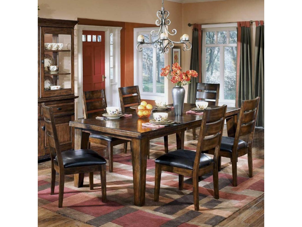 Signature Design by Ashley Larchmont 7-Piece Dining Set | Miskelly ...