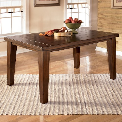 Signature Design by Ashley Larchmont Rectangular Dining Table ...