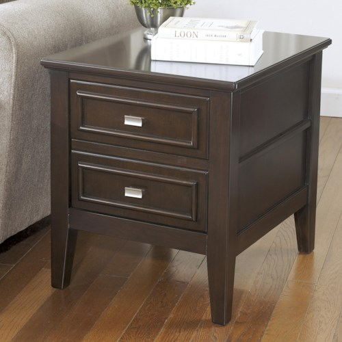 Signature Design by Ashley Larimer Rectangular End Table with 1 Drawer