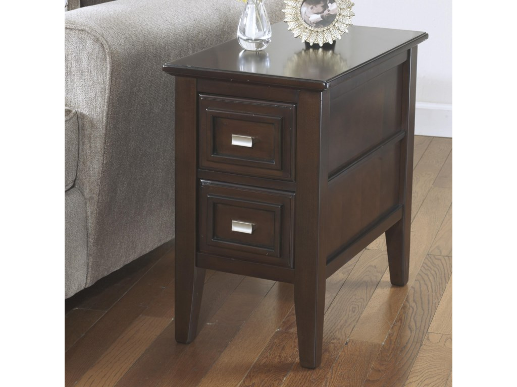 Signature Design By Ashley Larimer T Chairside End Table With - Ashley larimer coffee table