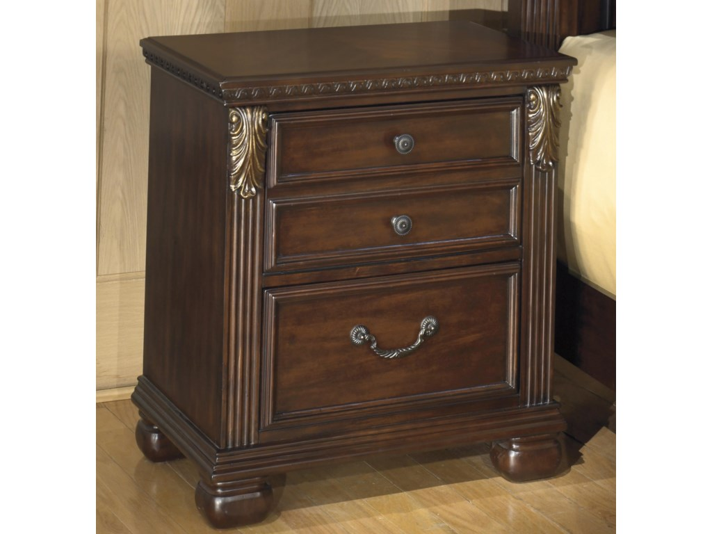 Signature Design by Ashley Leahlyn2-Drawer Night Stand