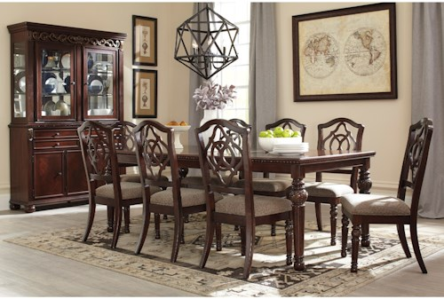 Signature Design By Ashley Leahlyn Casual Dining Room Group