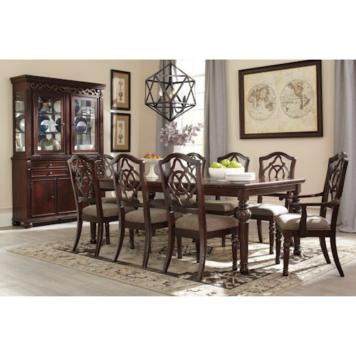 Signature Design By Ashley Leahlyn Formal Dining Room Group Godby Home Furnishings Formal