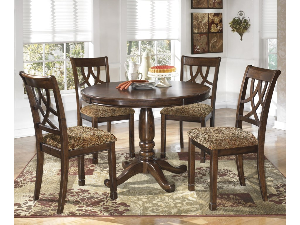 Signature Design By Ashley Lila5 Piece Round Dining Table Set
