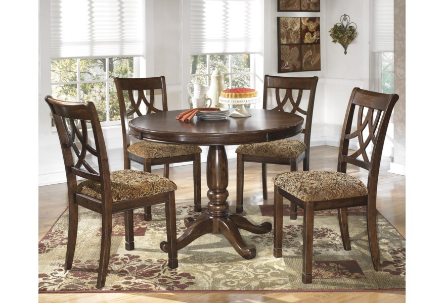 Leahlyn 5-Piece Round Dining Table Set