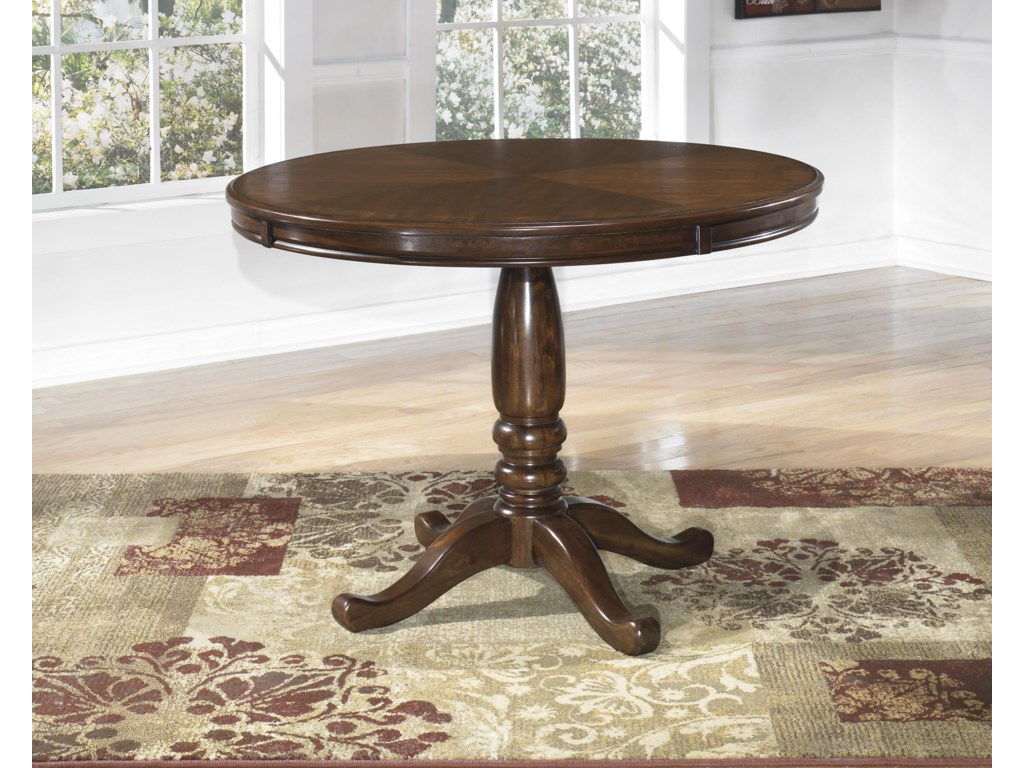 Benchcraft Leahlyn5-Piece Round Dining Table Set
