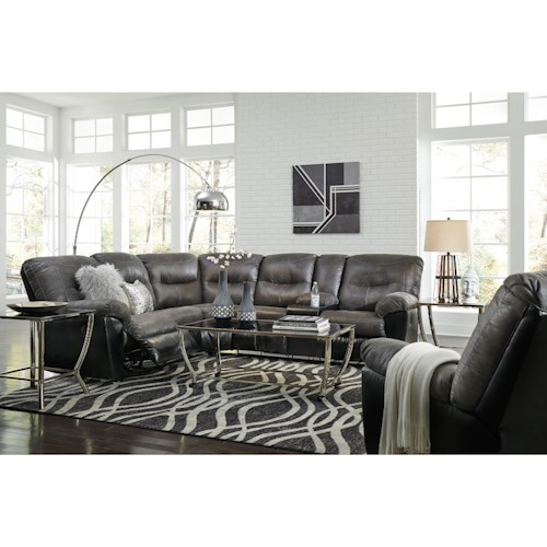 Signature Design by Ashley Leonberg Living Room Group