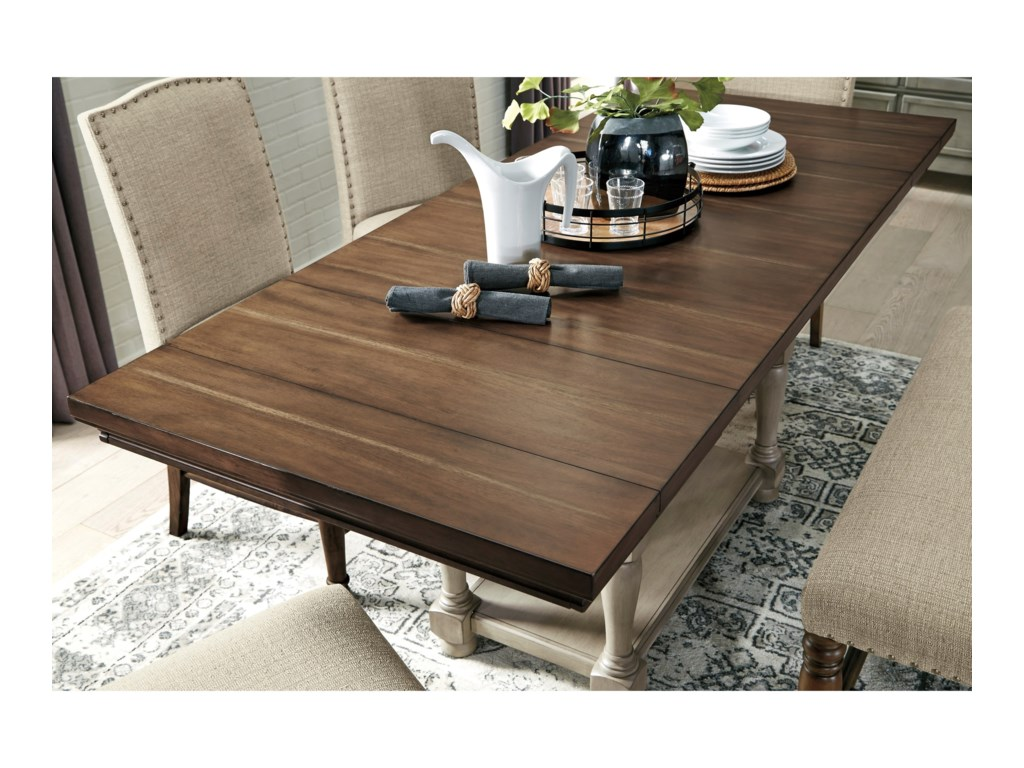 Signature Design by Ashley LettnerRectangular Dining Room Counter Ext. Table