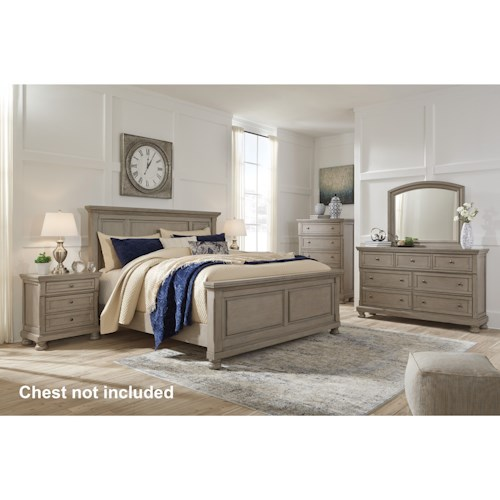 Signature Design by Ashley Lettner Queen Bedroom Group