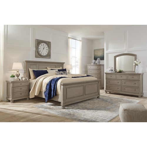 Signature Design by Ashley Lettner California King Bedroom Group