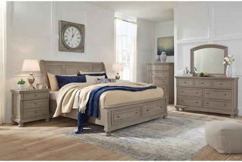 Signature Design by Ashley Lettner King Bedroom Group