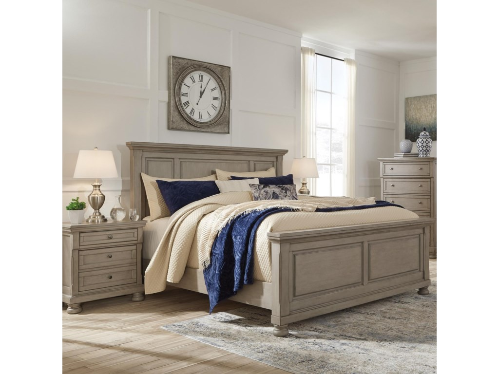 Signature Design by Ashley LettnerKing Panel Bed