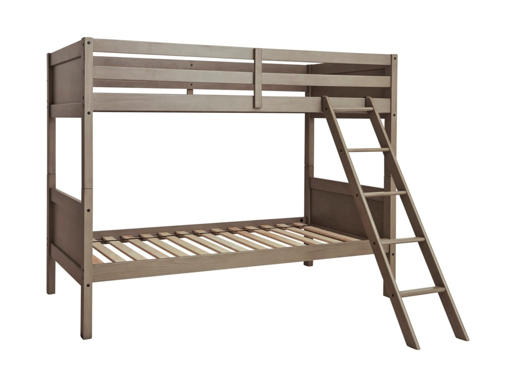 Signature Design by Ashley LettnerTwin/Twin Bunk Bed w/ Ladder