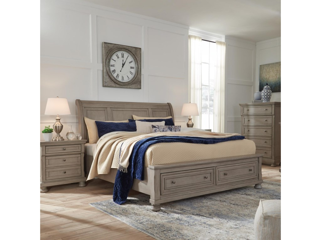 Signature Design by Ashley LettnerQueen Sleigh Bed