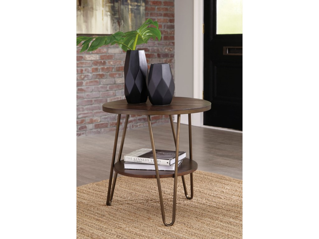 Signature Design by Ashley LettoriRound End Table