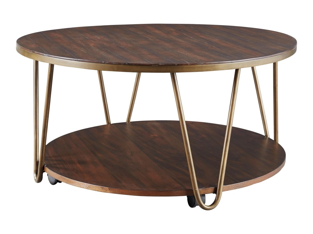 Signature Design by Ashley LettoriRound Cocktail Table