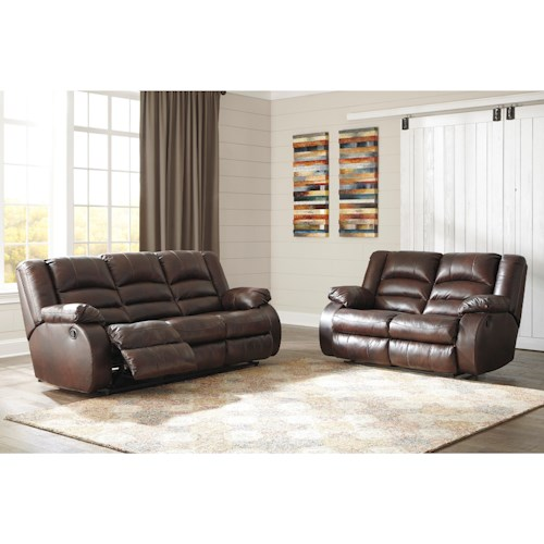 Signature Design by Ashley Levelland Reclining Living Room Group