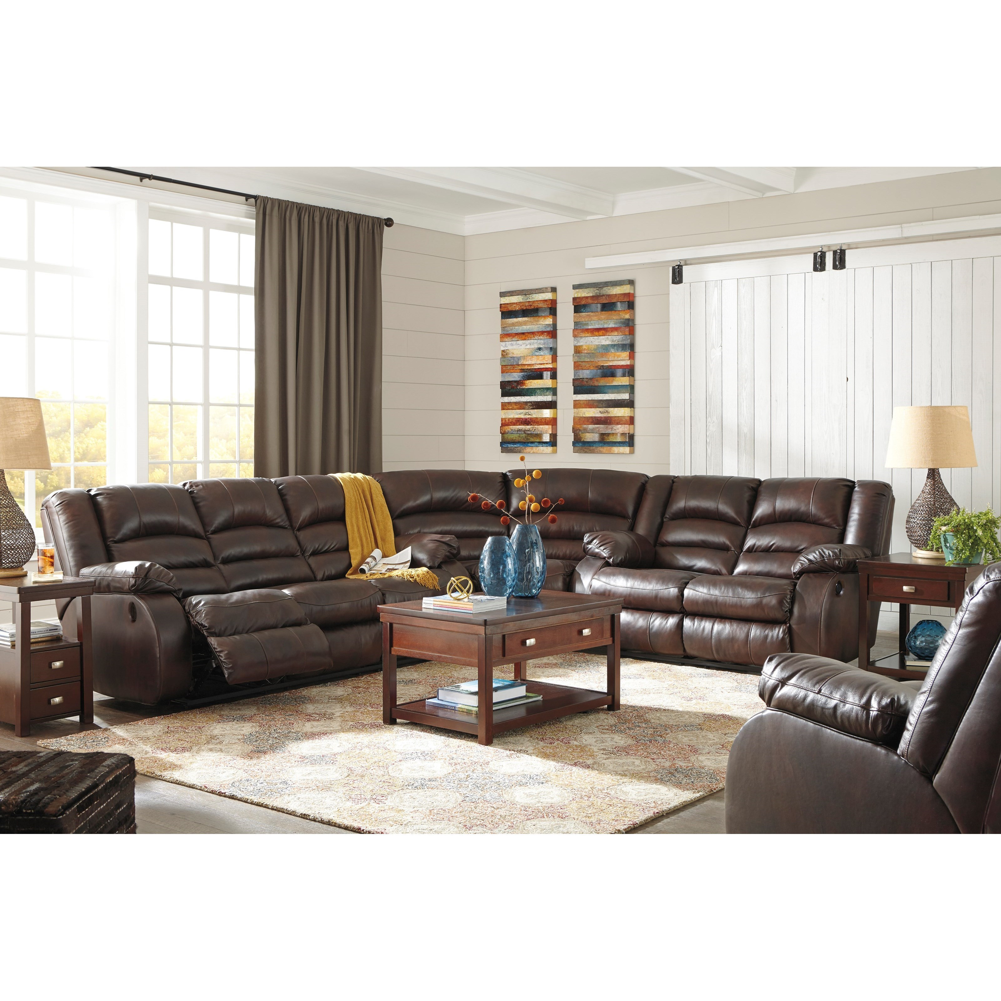 Levelland Reclining Living Room Group By Signature Design By Ashley