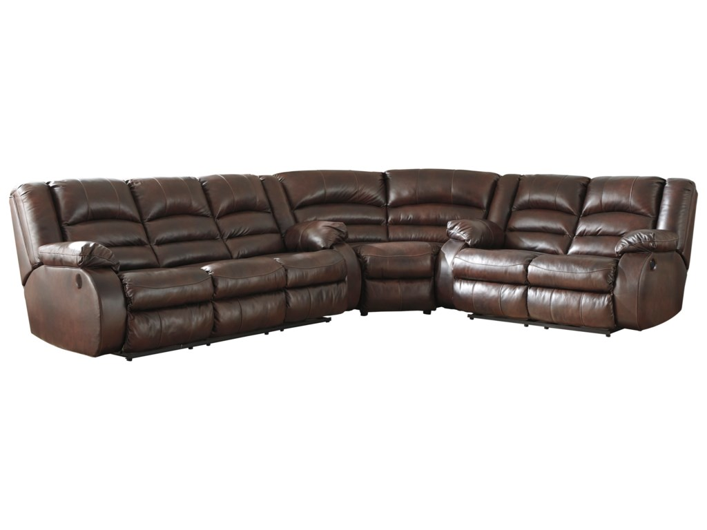 Signature Design by Ashley Levelland3-Piece Power Reclining Sectional