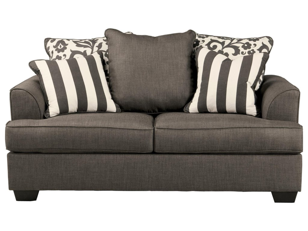 Signature Design by Ashley Levon - CharcoalLoveseat