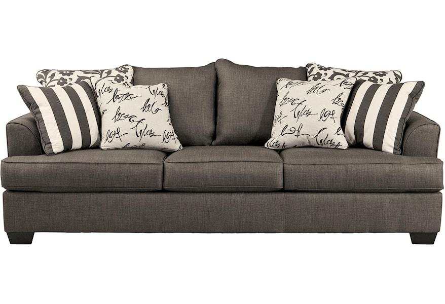 Charcoal 7340339 Queen Sofa