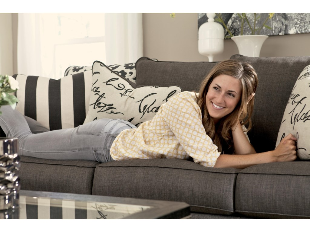 Signature Design by Ashley Levon - CharcoalQueen Sofa Sleeper