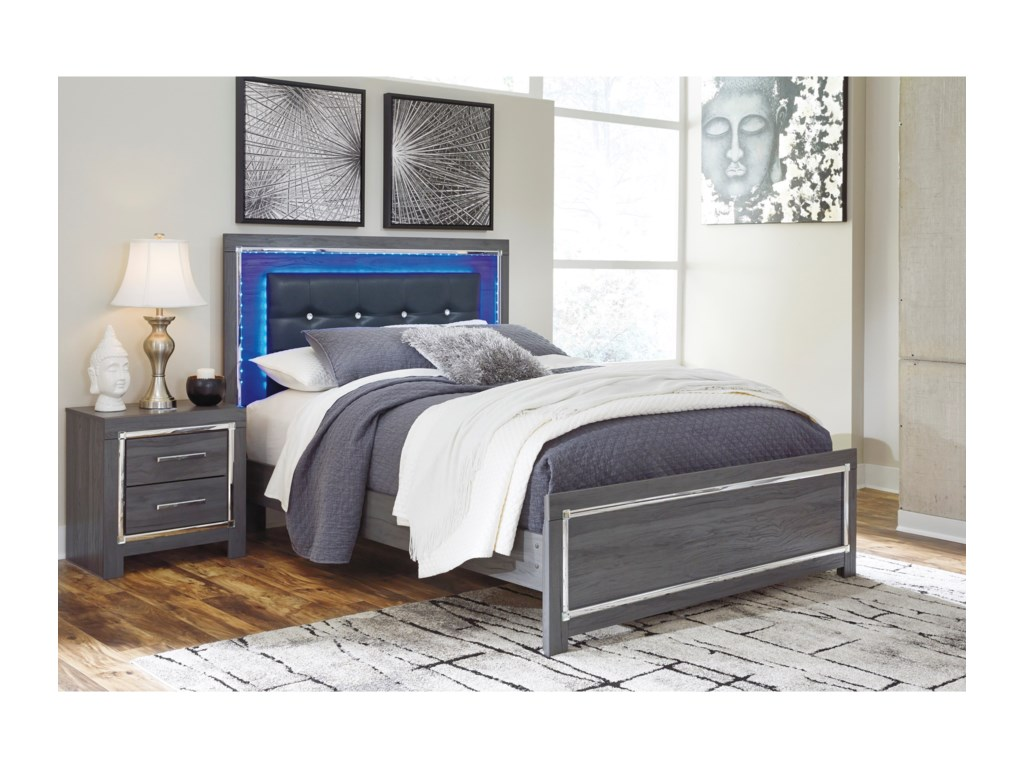 Signature Design by Ashley LodanaKing Upholstered Bed