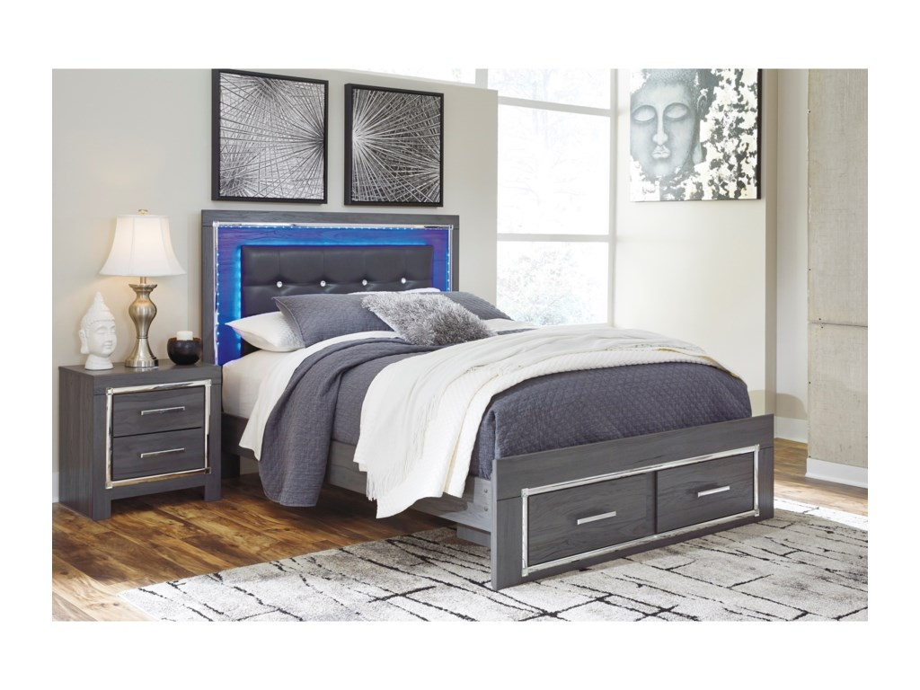 Signature Design by Ashley LodanaFull Upholstered Bed