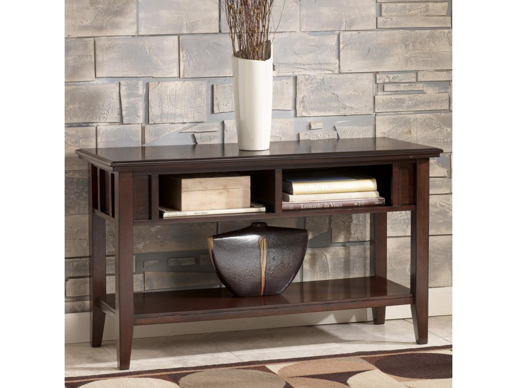 Signature design by ashley logan console table homeworld signature design by ashley logan console table homeworld furniture consolesofa table geotapseo Image collections