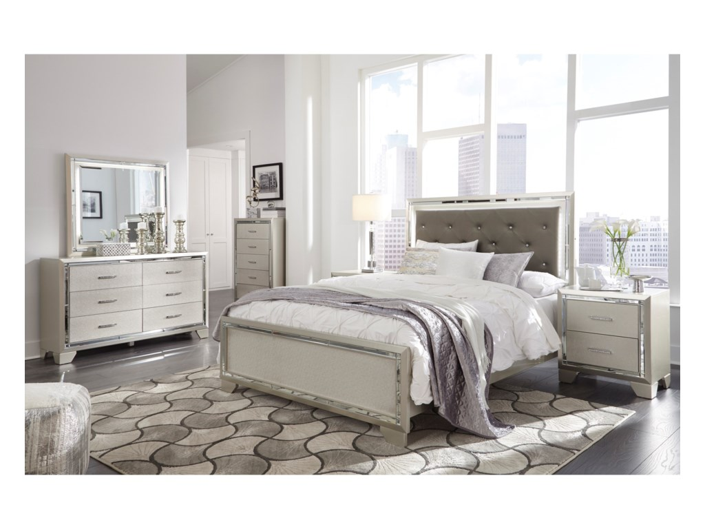 Signature Design by Ashley LonnixQueen Bed Room Group