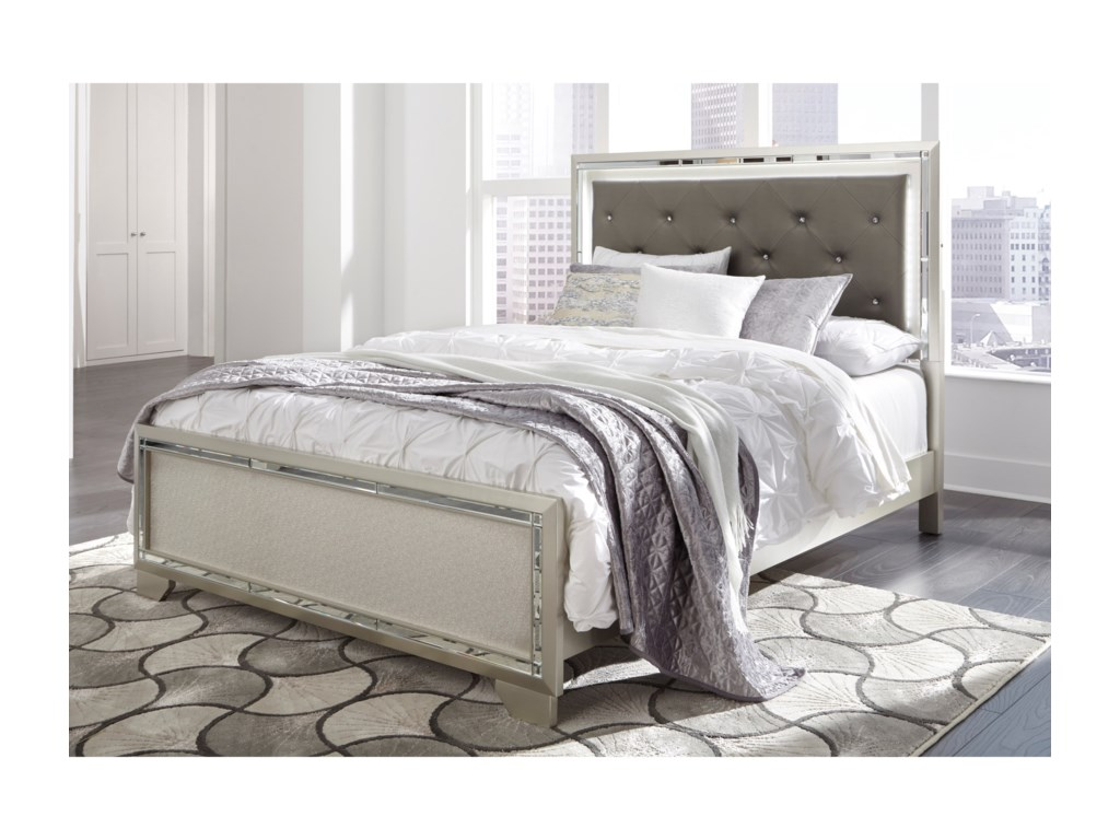 Signature Design by Ashley LonnixUpholstered Queen Bed