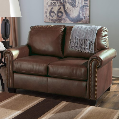 Signature Design by Ashley Lottie DuraBlend® Transitional Bonded Leather Match 57