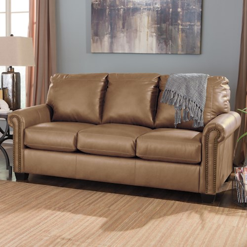 Signature Design by Ashley Lottie DuraBlend Transitional Bonded Leather Match 78