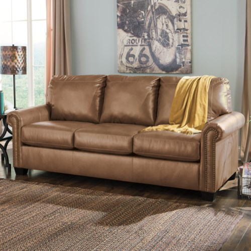 Minimalist Signature Design by Ashley Lottie DuraBlend Transitional Bonded Leather Match 84 Fresh - Luxury durablend leather sofa Fresh