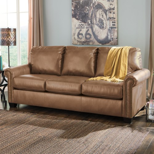 Signature Design by Ashley Lottie DuraBlend Transitional Bonded Leather Match 84