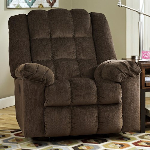 Signature Design by Ashley Ludden - Cocoa POWER Recliner