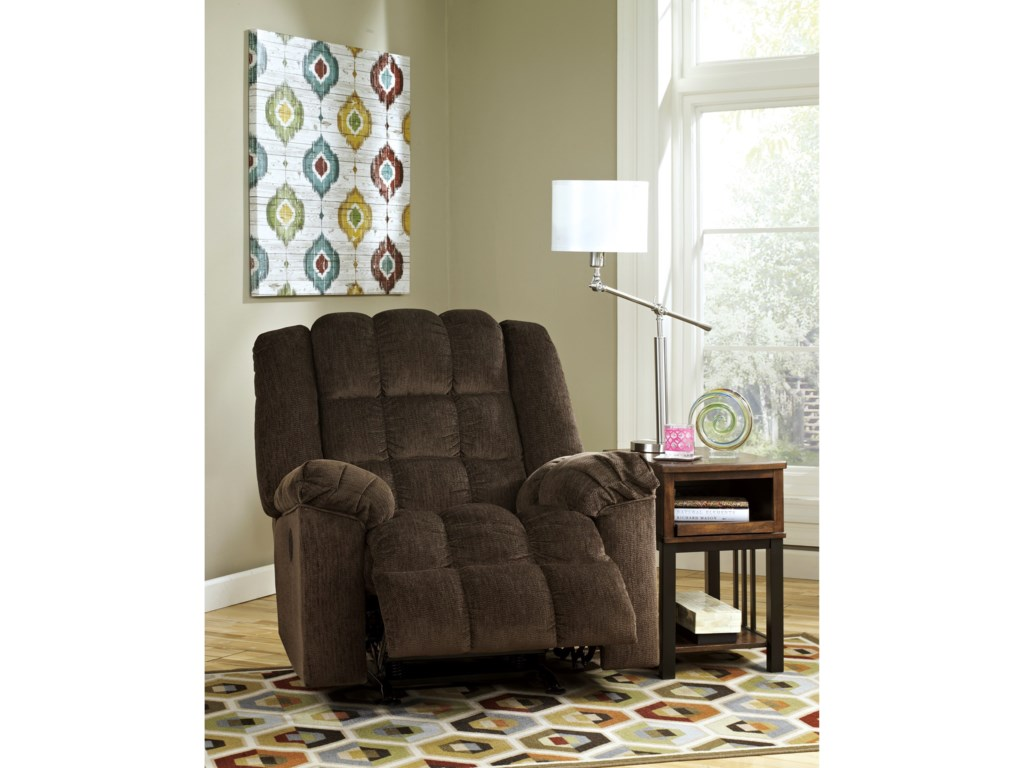 Signature Design by Ashley Ludden - CocoaPower Rocker Recliner