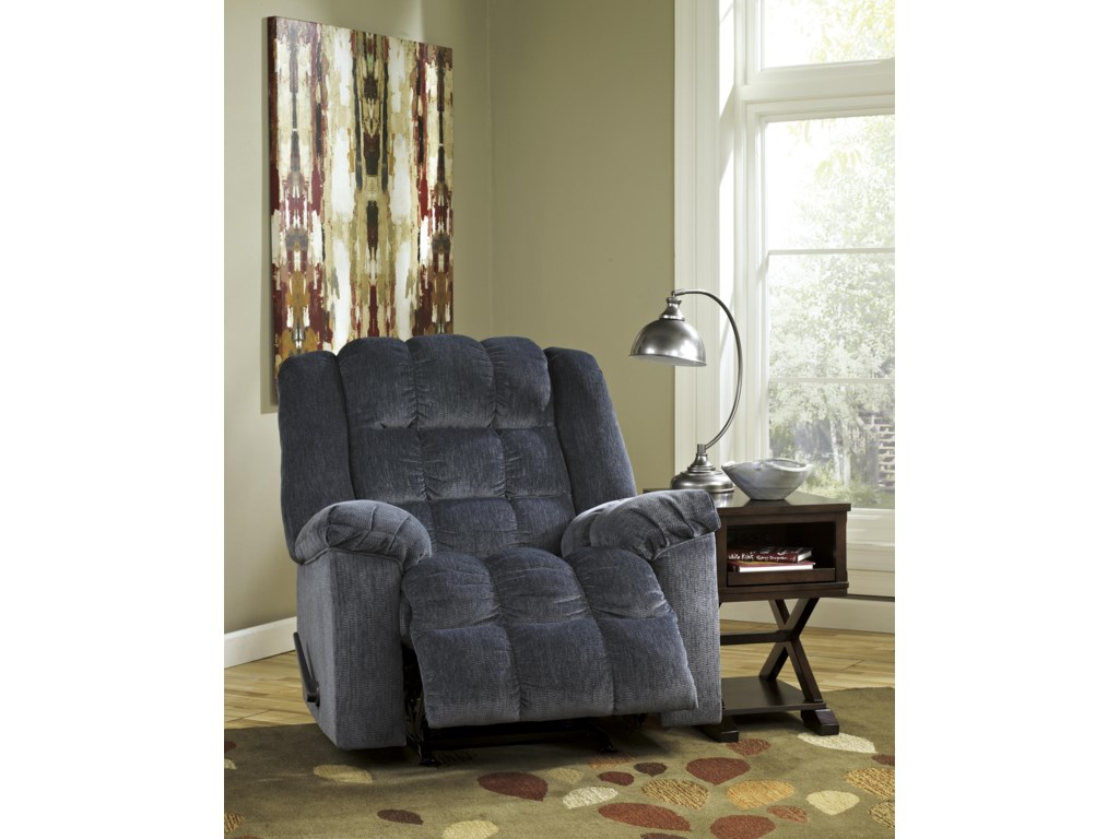 Signature Design by Ashley Ludden - BlueRocker Recliner